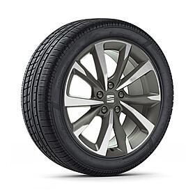 SEAT 18 inch lichtmetalen winterset FR Machined, Continental