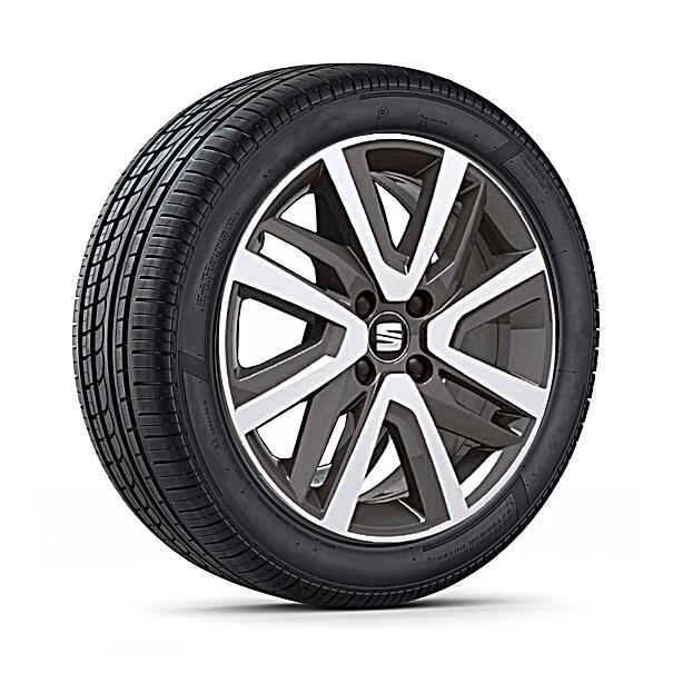SEAT 16 inch lichtmetalen winterset, Continental
