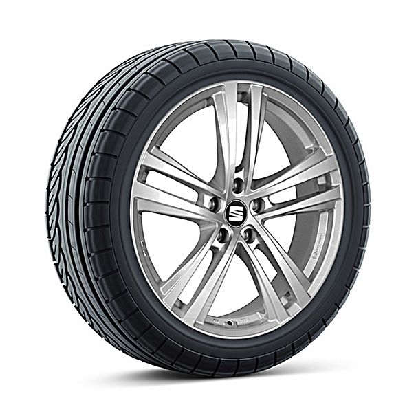 SEAT 17 inch lichtmetalen winterset Abrera, Bridgestone