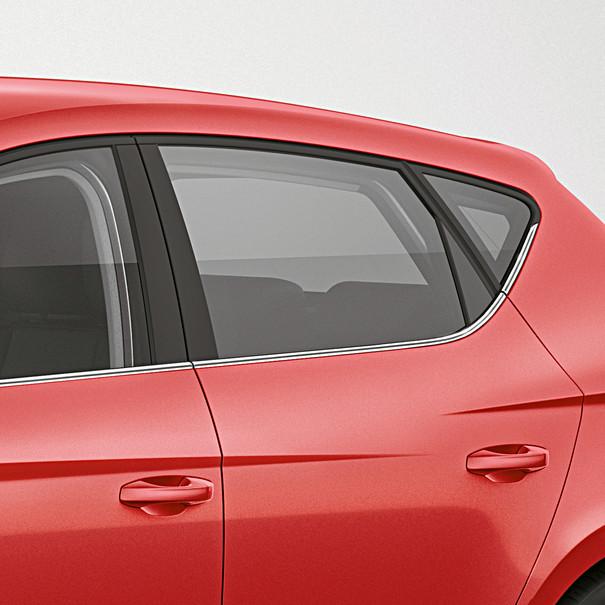 SEAT Chroomlook raamlijsten, Leon ST
