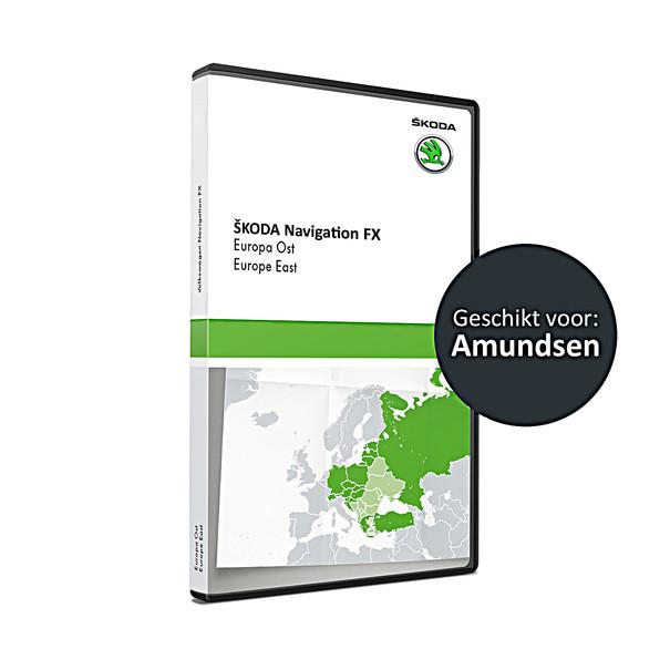 SKODA Navigatie update, Oost-Europa (V9)