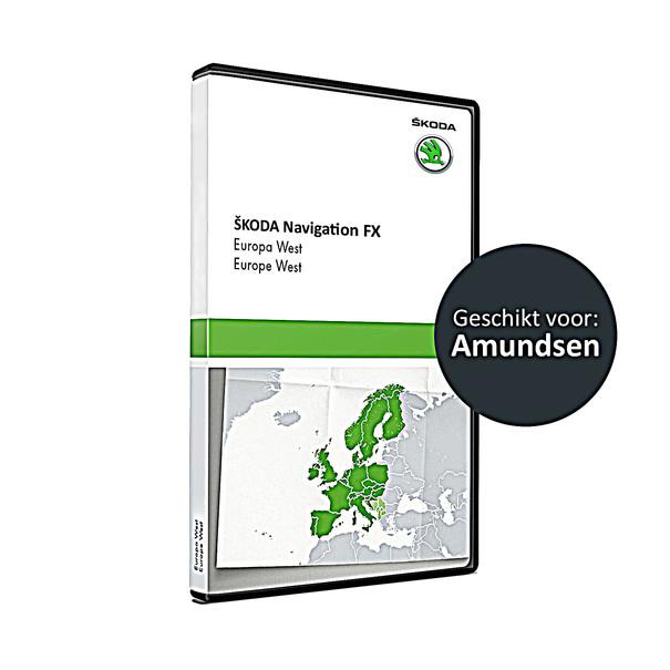 SKODA Navigatie SD kaart FX-platform, West-Europa V10