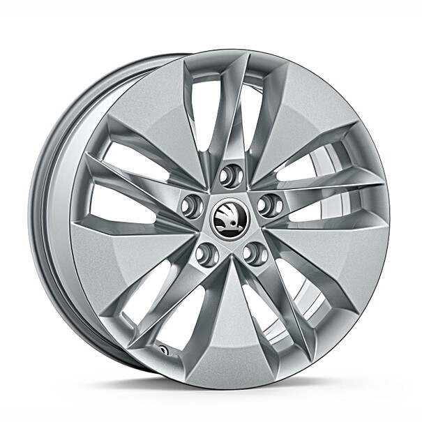 SKODA 16 inch lichtmetalen zomerset, Twister Aero
