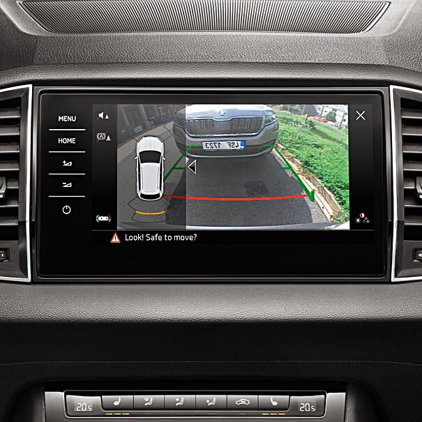 SKODA Achteruitrijcamera Octavia Hatchback (vanaf wk 06/2017 tot en met kw 31/2018)