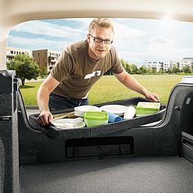 SKODA Uitneembare kofferbaklade