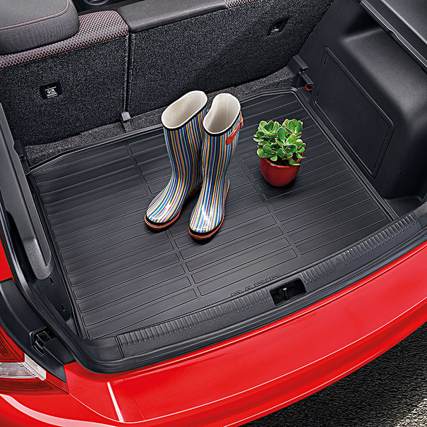 SKODA Rubberen kofferbakmat, Rapid Spaceback