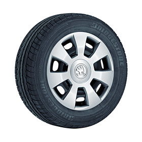 SKODA Wieldoppenset Flair, 14 inch