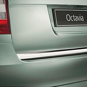 SKODA Achterbumper beschermstrip, chrome, Octavia II