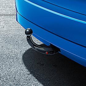 SKODA Afneembare trekhaakset, Fabia Hatchback, zonder trekhaakvoorbereiding, inclusief 13-polig kabelset