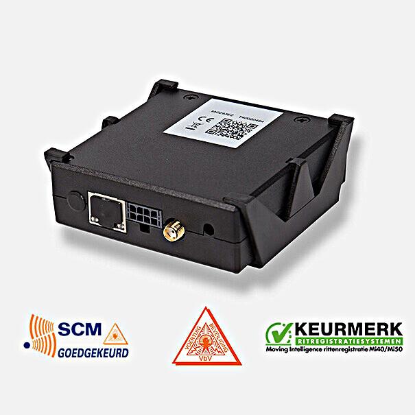 SKODA MI50 voertuigvolgsysteem Plus complete set, met startknop