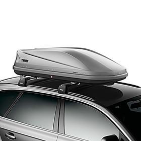 SKODA Thule Touring M bagagebox, titaangrijs