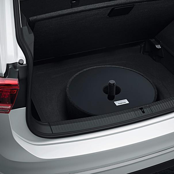 Volkswagen Soundsysteem 480 Watt, incl subwoofer in reservewielruimte