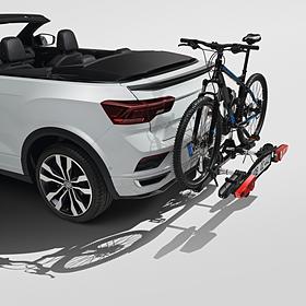 Volkswagen Fietsendrager Basis II (inklapbaar) voor op trekhaak, 2 fietsen