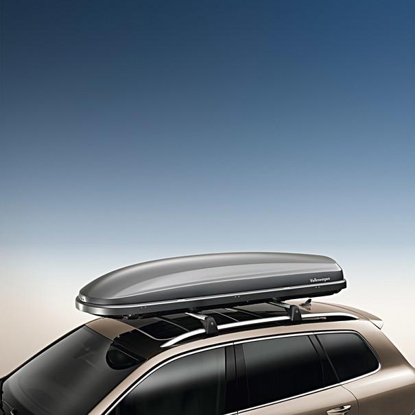 Volkswagen Bagagebox, 340 liter, titaangrijs