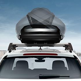 Volkswagen Bagagebox comfort, 340 liter, glanzend zwart