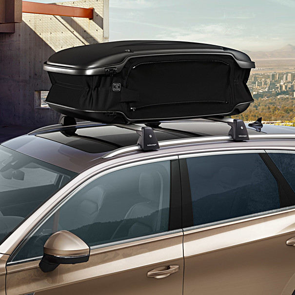 Volkswagen Bagagebox, urban loader 300 - 500 liter, mat zwart