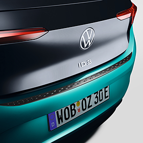 Volkswagen Achterbumper beschermlijst zwart