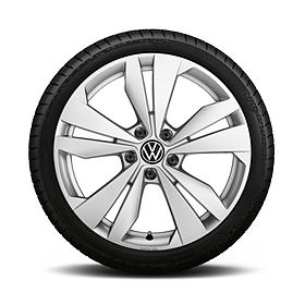 Volkswagen 19 inch winterset Loen zilver