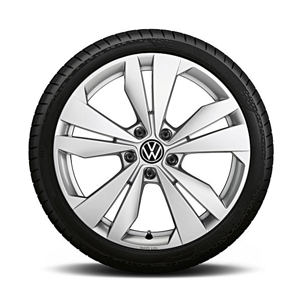 Volkswagen 19 inch zomerset Loen zilver