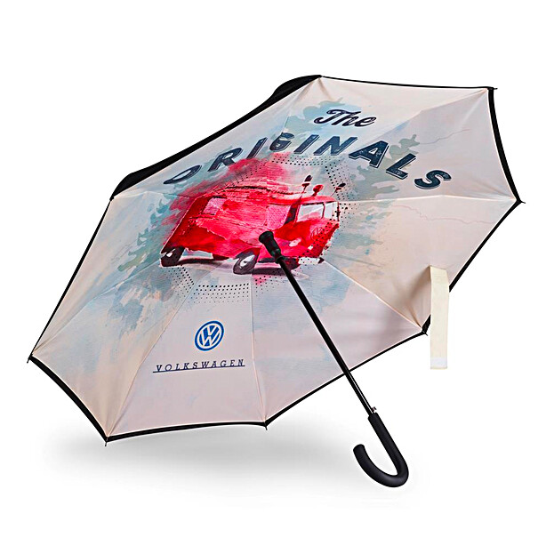 Volkswagen Paraplu, omgekeerd