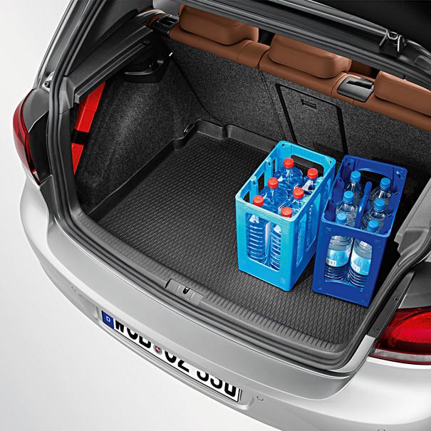 Volkswagen Kofferbakinleg Golf (5 en 6), met basis bodem