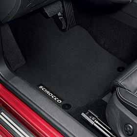 Volkswagen Velours mattenset Scirocco, achterzijde