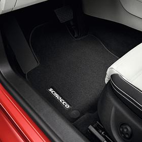 Volkswagen Velours mattenset Scirocco, voor en achter