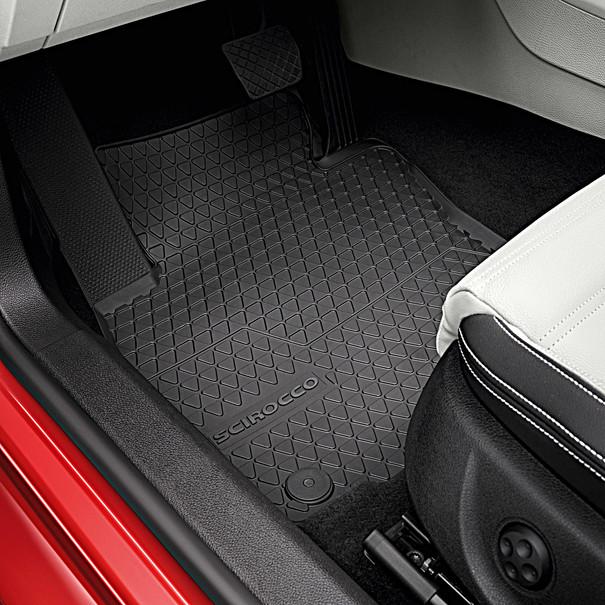 Volkswagen Rubberen mattenset Scirocco, voor
