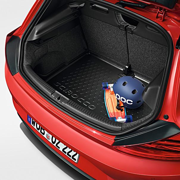 Volkswagen Kofferbakmat Scirocco, met vaste bodem