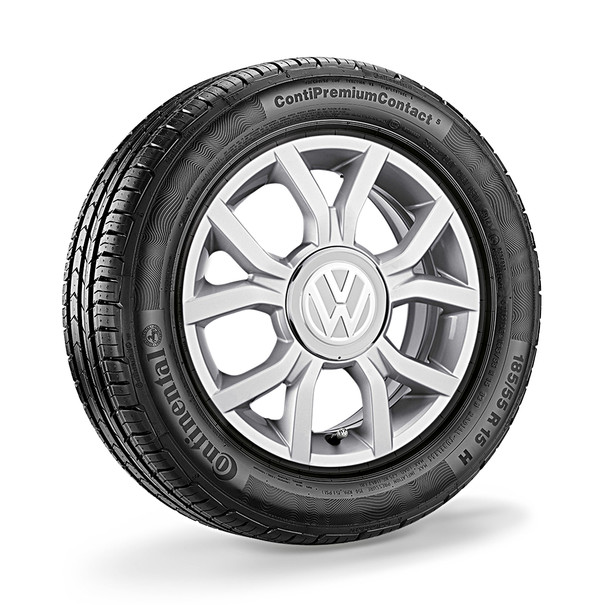 Volkswagen 15 inch lichtmetalen zomerset, Waffle