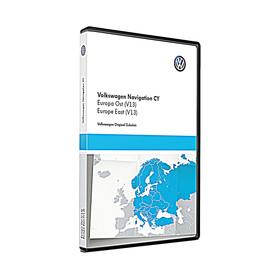 Volkswagen Navigatie update, Oost-Europa (V13)