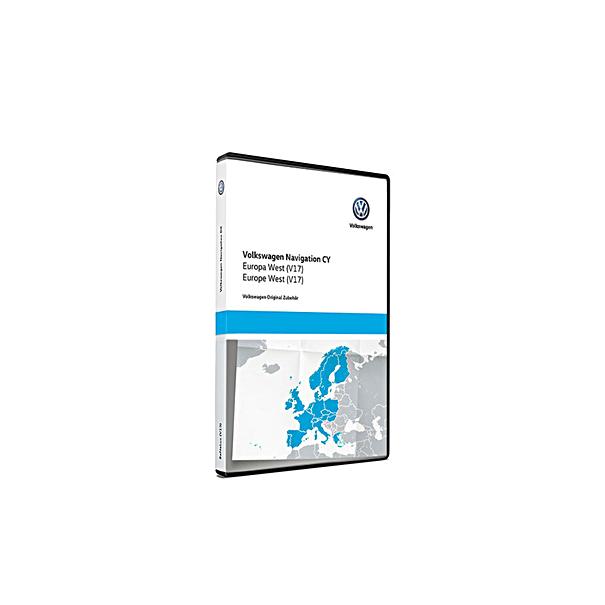 Volkswagen Navigatie update, West-Europa (V17)