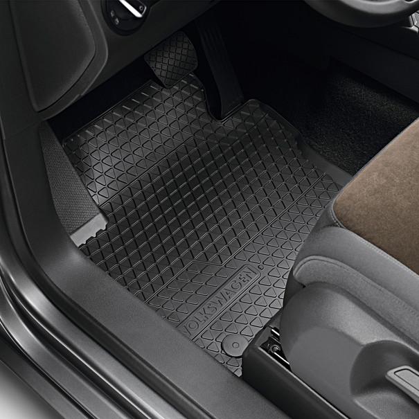 Volkswagen All-weather mattenset Touran, drukknop bevestiging, voor