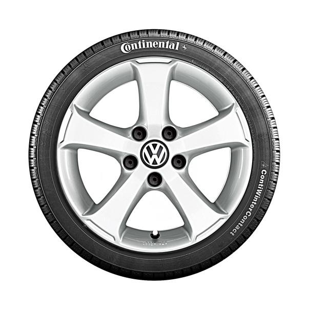 Volkswagen 15 inch lichtmetalen winterset Sima, Golf