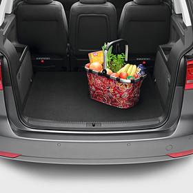 Volkswagen Dubbelzijdige kofferbakmat Touran, 5-zitter, met vaste bodem