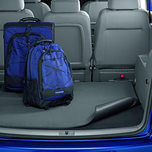 Volkswagen Dubbelzijdige kofferbakmat Touran, 7-zitter, met variabele bodem