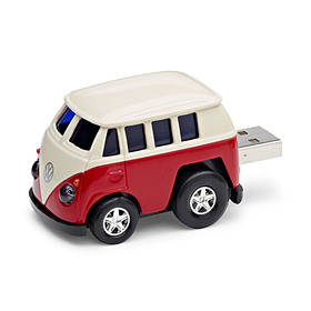 Volkswagen USB Stick 8GB, VW Bus, Rot