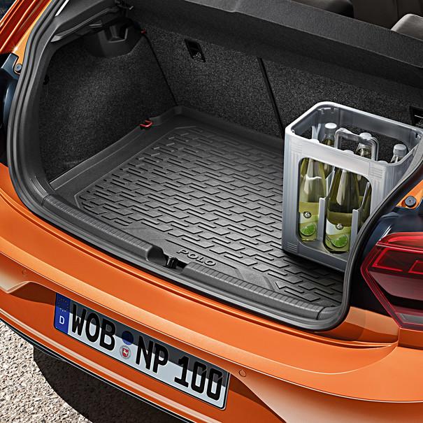Volkswagen Kofferbakinleg Polo, met standaard laadvloer