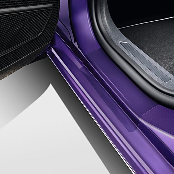 Volkswagen Transparante instapfolie Polo, achterportieren