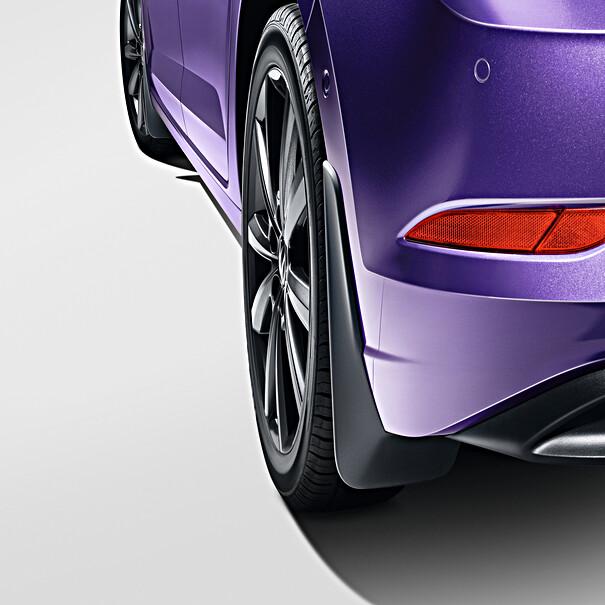 Volkswagen Spatlappen Polo, achterzijde