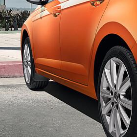 Volkswagen Spatlappen Polo, voor
