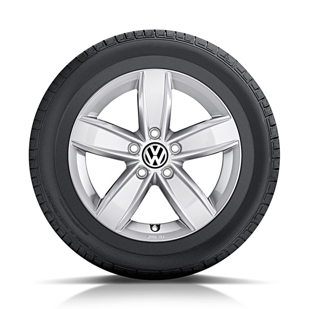 Volkswagen 15 inch lichtmetalen winterset Corvara, Polo