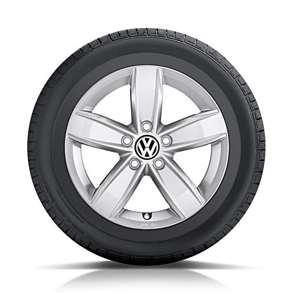 Volkswagen 15 inch lichtmetalen winterset Corvara, Polo