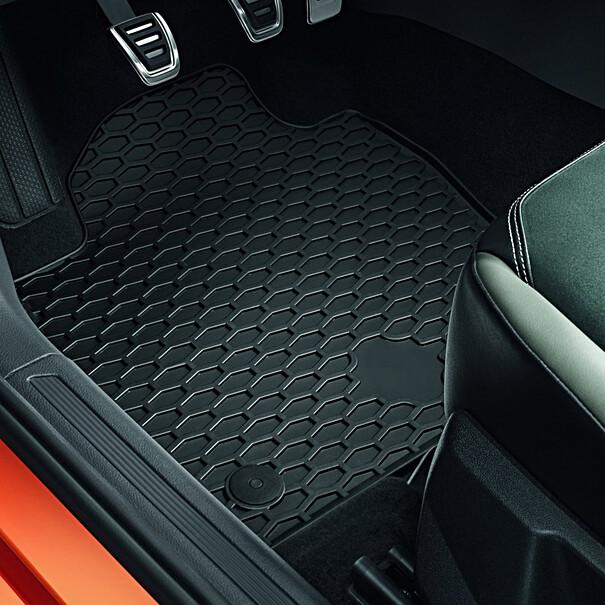 Volkswagen Rubberen mattenset Plus voor & achter, Polo
