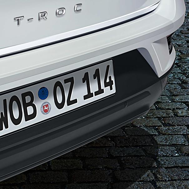 Volkswagen Achterbumper beschermfolie, T-Roc