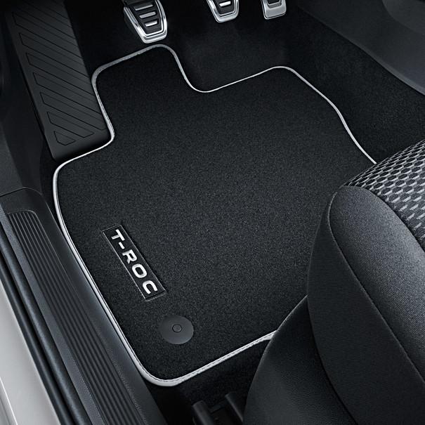 Volkswagen Velours mattenset Premium, T-Roc