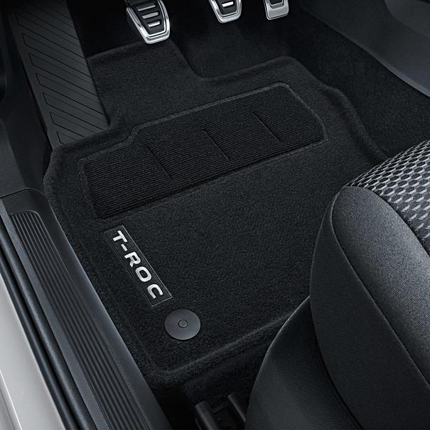 Volkswagen Velours mattenset, T-Roc