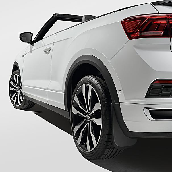 Volkswagen Spatlappen T-Roc, achterzijde