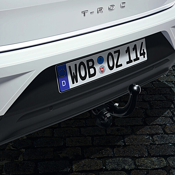 Volkswagen Vaste trekhaak T-Roc, inclusief 13-polige kabelset