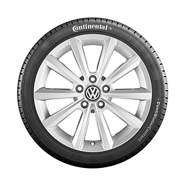 Volkswagen 17 inch lichtmetalen winterset Merano, T-Roc
